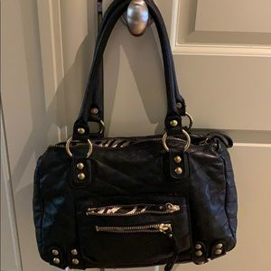 Linea Pelle Quilted Leather Bag